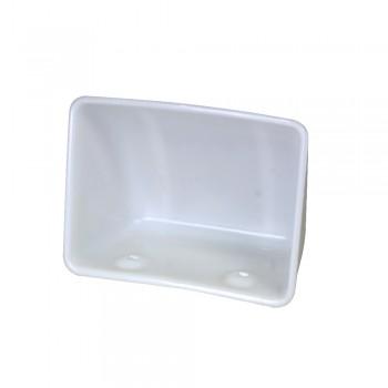 Elevatorbecher Opti SF, PE-HD weiß, 200mm,Ausladg.140mm