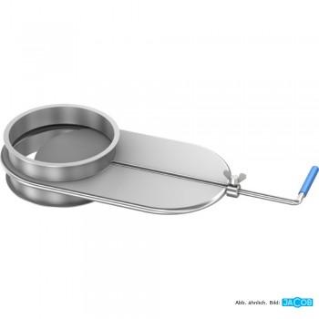 Luftregulierschieber D= 80 mm, 1.5 mm verzinkt