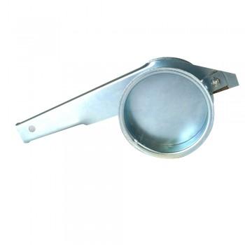 Rohrabsperrschieber 200 mm, 2,0 mm verzinkt
