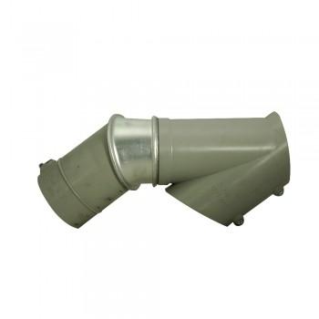 Abzweig E-Serie 125 mm Durchmesser, ohne Rohr