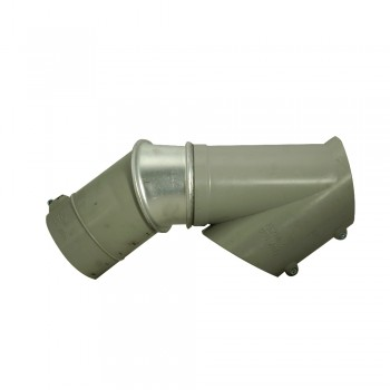 Rohrbau Abzweig E-Serie 100 mm Durchmesser