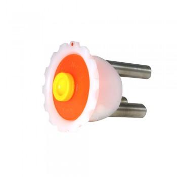 Bajonettdeckel mit Neodym-Magnetrost, 100 mm Durchmesser