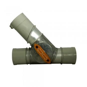 Sallhofer Rohr-Zweiweger, 125 mm Durchmesser