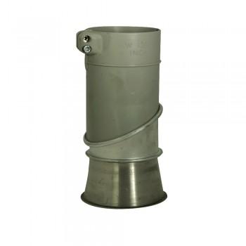 Spannring-Konnektor 100/100 mm
