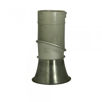 Spannring-Konnektor 125/150 mm Durchmesser