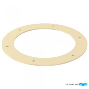 Bördeldichtring für Flansch D=500 mm, 2 mm Perbunan