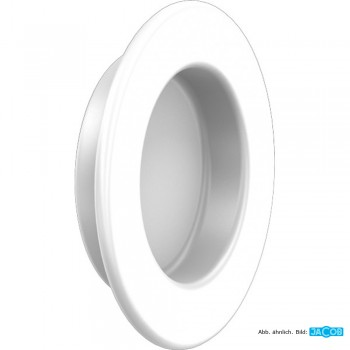 Gummideckel weiß D=100 mm, TPE - Food Grade