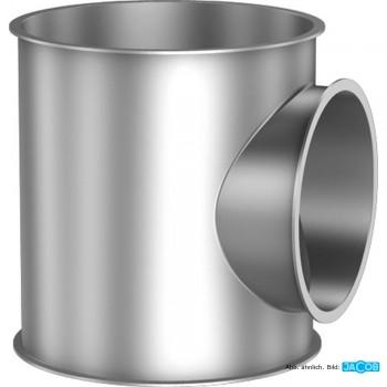 Kontrollstutzen D=250 mm 1,5 mm grundiert