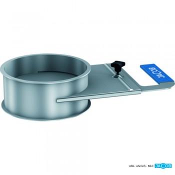Rohrregulierschieber D=100 mm, 2 mm grundiert