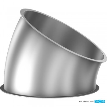 Rohr-Segment 30 Grad D=250, Material 2 mm V2A