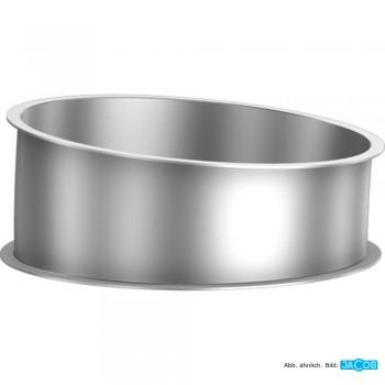 Rohr Segment 5 Grad D=500 mm, 1.5 mm verzinkt
